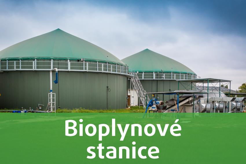 Výstavba bioplynových straníc