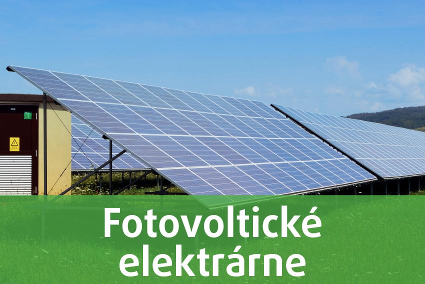Výstavba fotovoltických elekrárni
