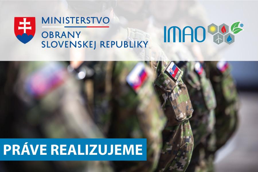 Ministerstvo obrany SR a IMAO