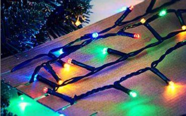 vianočné osvetlenie - skladovanie