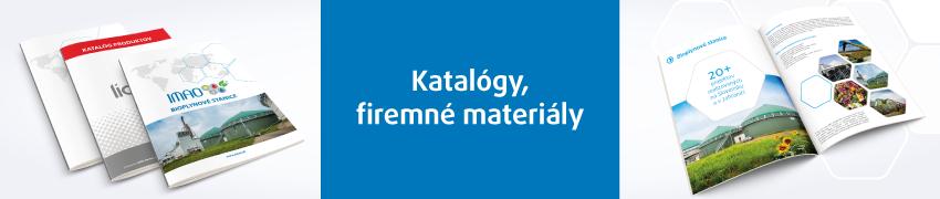 IMAO katalógy, firemné materiály