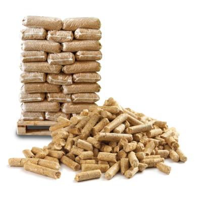 Drevené pelety – 1t vo vreciach, priemer 6mm, 40-50mm, akosť A1