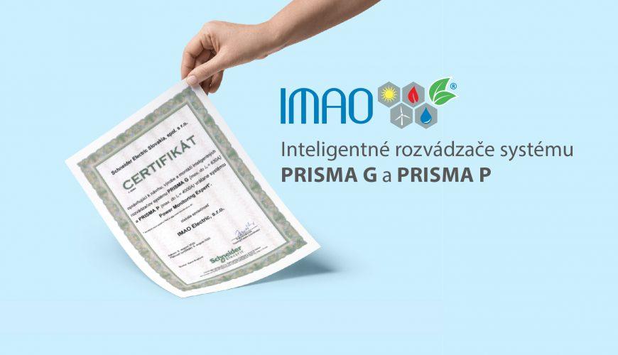 Inteligentné rozvádzače systému Prisma G a prisma P