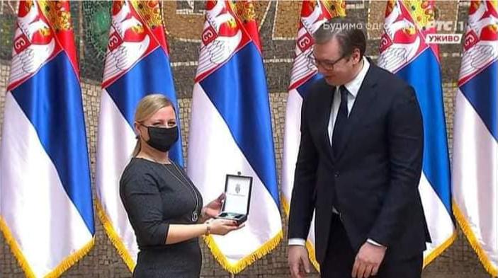 Významné ocenenie od prezidenta Srbska