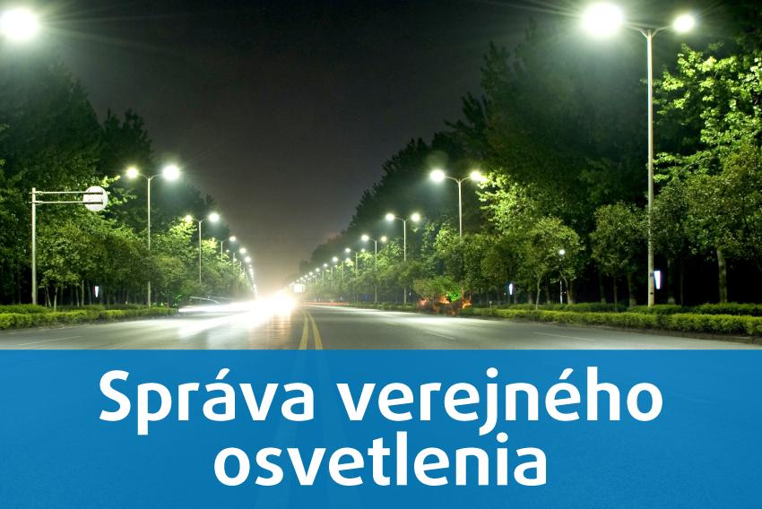 Správa verejného osvetlenia